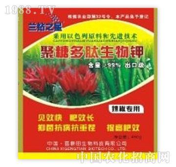 兰钻之星聚糖多肽生物钾辣椒专用
