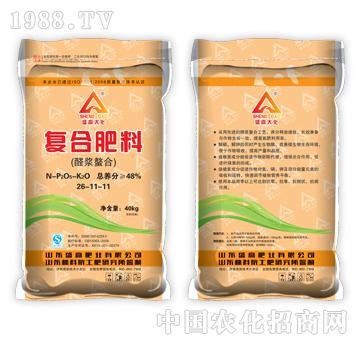 复合肥料(醛浆螯合)26-11-11