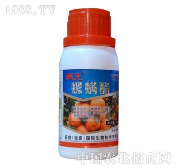 240克/升螺螨酯+3%阿维菌素-螨克-标创