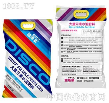 大量元素水溶肥料12-4-44+TE-迪斯科