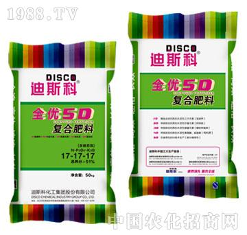 5D氯化钾型复合肥料-迪斯科