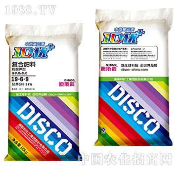 中微量硫酸钾型复合肥料19-6-9-迪斯科