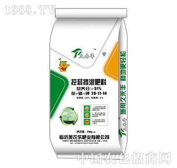 控释掺混肥料26-11-14-久禾丰-美农乐