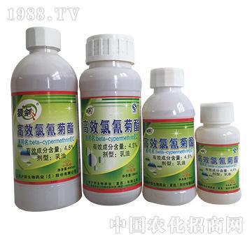 4.5%高效氯氰菊酯-狼剑-辉胜