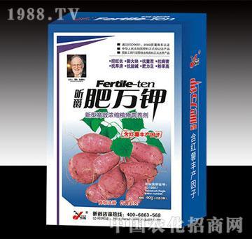 肥万钾红薯盒装