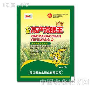 小麦高产液肥王-爱地生