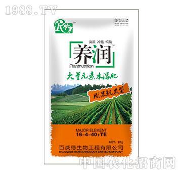 大量元素水溶肥料(膨果靓果型)-养润-百威德