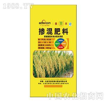掺混肥料(水稻专用肥)20-12-8-方舵-奥丰