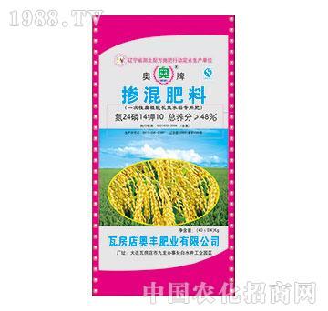 48%掺混肥料(水稻专用肥)24-14-10-奥丰