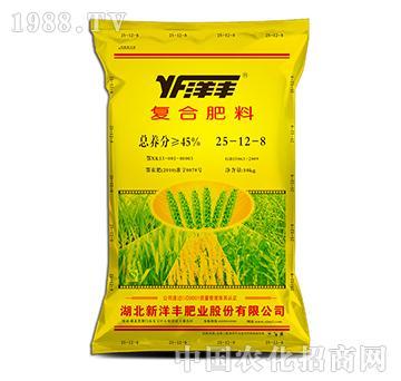 复合肥料25-12-8-新洋丰肥业