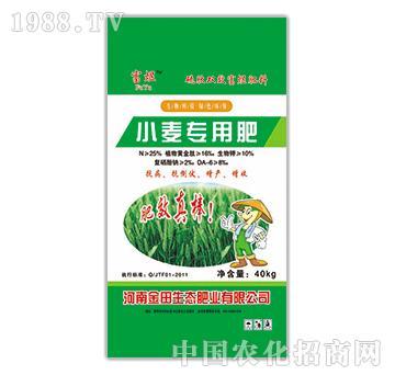 小麦专用肥-富煜-金田生态