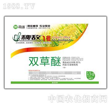 20%双草醚+10%吡嘧磺隆+五氟+安全增效剂-稗敌1号