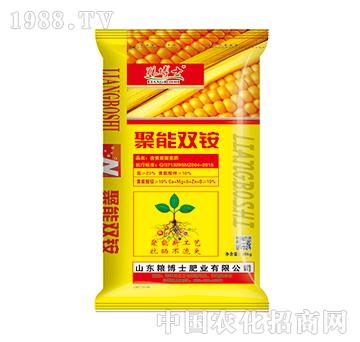 含黄腐酸氮肥-聚能双铵-中港化肥