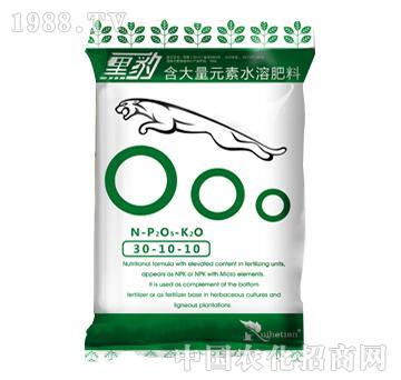 大量元素水溶肥-黑豹30-10-10+TE-瑞禾田