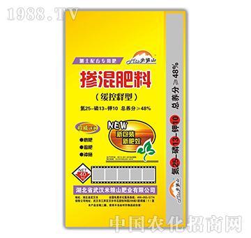 掺混肥料缓控释型25-13-10-米粮山