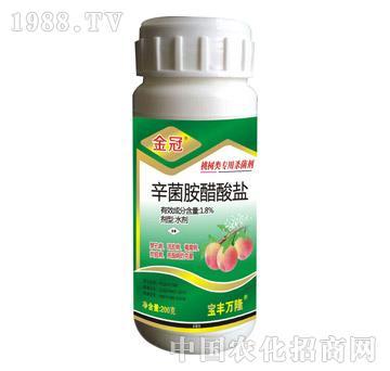 1.8%辛菌胺醋酸盐-金冠桃树专用-宝丰万隆