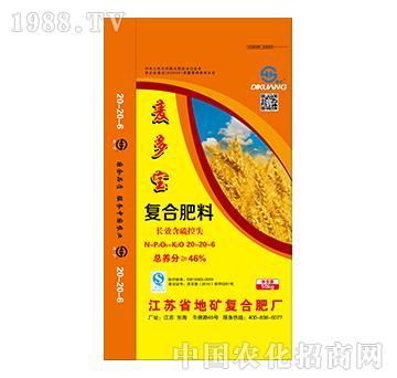 麦多宝复合肥料20-20-6-地矿