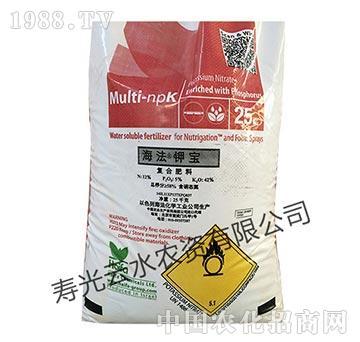 高浓度硝酸钾复合肥料-海法钾宝-云水农资