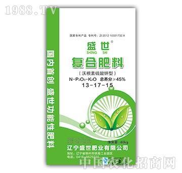 复合肥料13-17-15-盛世肥业