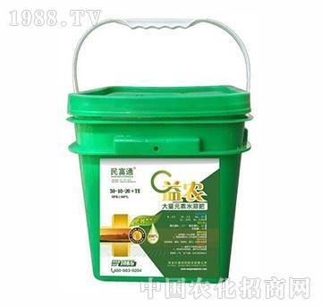 益农大量元素水溶肥30