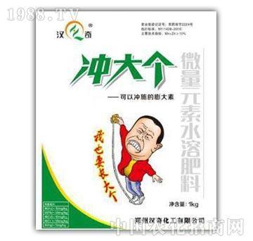 微量元素水溶肥料-冲大个-郑州汉奇
