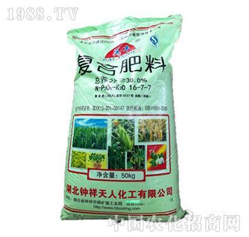 复合肥料16-7-7-天人化工
