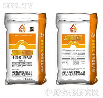 全营养复合肥纯硫基16-6-23-盛高