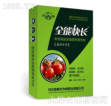 全能快长(番茄专用)-新型高效浓缩营养调节剂-为峰