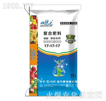 果蔬专用复合肥料17-17-17-根状元-金网联