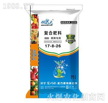 膨果专用复合肥料17-8-26-根状元-金网联