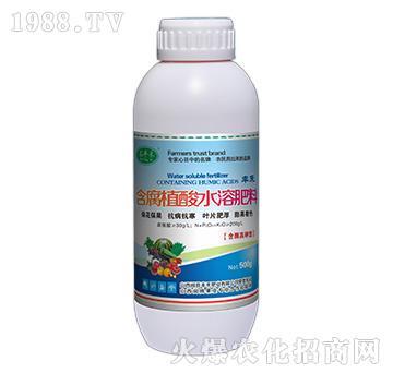 含腐植酸水溶肥料-蕊丰禾