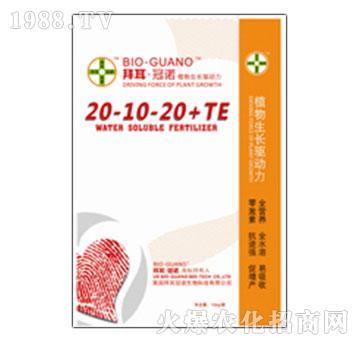 大量元素水溶肥料20-10-20+TE-拜耳冠诺