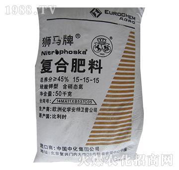 硫酸钾型复合肥料15-15-15-狮马-中农九胜