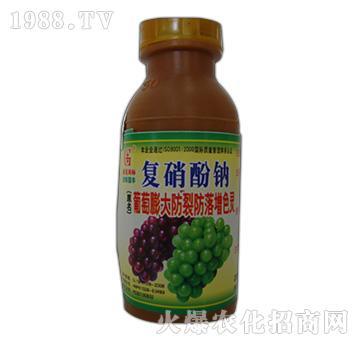 复硝酚钠-葡萄膨大防裂