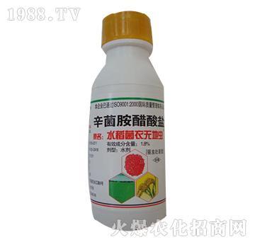 辛菌胺醋酸盐-水稻菌衣