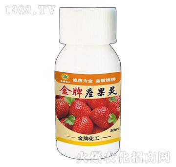 草莓金牌座果灵-金牌化