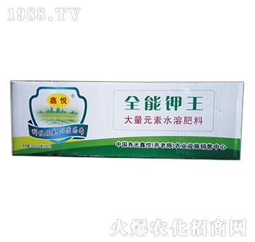 大量元素水溶肥18-9-30+TE-全能钾王-鑫悦