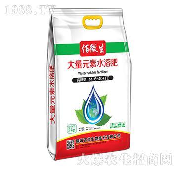 大量元素水溶肥14-6-40+TE-百微生物