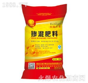 纳酶三安掺混肥料18-