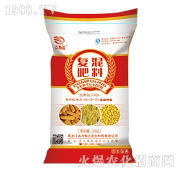 脲醛钾型复混肥料15-