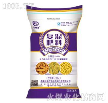 脲醛钾型复混肥料12-