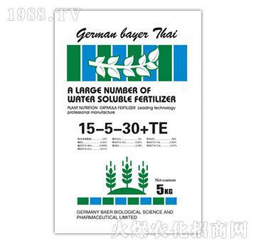 高钾肥料15-5-30+TE-拜耳生物肥