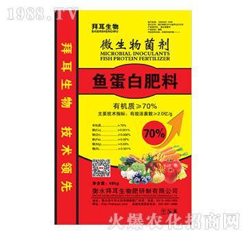 鱼蛋白肥料-微生物菌剂