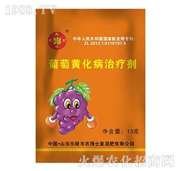 葡萄黄化病治疗剂-农博士