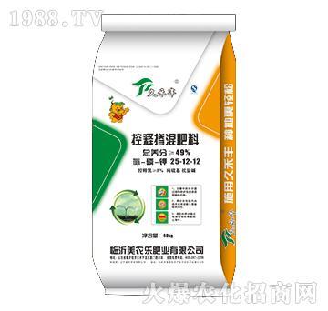 控释掺混肥料25-12-12-美农乐