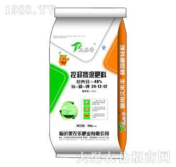 控释掺混肥料24-12-12-美农乐