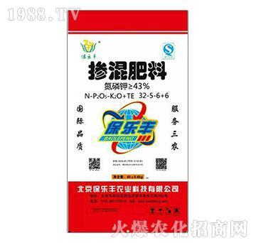 掺混肥料32-5-6+6-保乐丰