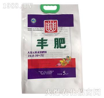 大量元素水溶肥料16-8-30+TE-丰肥-一心化工