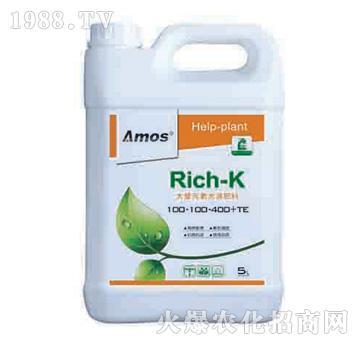 Rich-K大量元素水溶肥料100-100-400+TE-神农氏