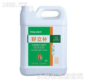 高磷高钾型含腐殖酸水溶肥料-好立补-神农氏